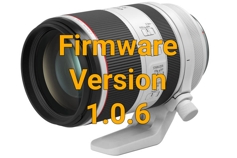 Canon RF 70-200 mm f/2.8 L IS USM Firmware 1.0.6 (Symbolbild)